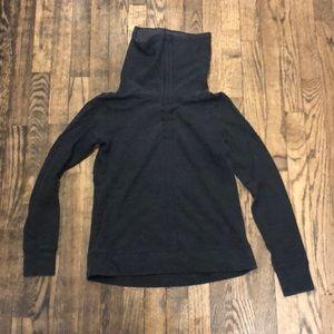 Lululemon gray turtleneck sweater size Small